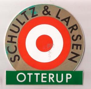 Logo fra Schultz & Larsen Geværfabrik i Otterup