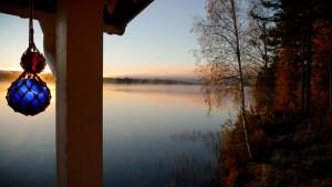 Elgjagt i Värmland, jagthytten