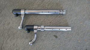 Foto af Bundstykker Schultz og Larsen Model 100 og Model 77